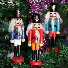 6x Nutcracker Ornaments Nutcracker Puppet Zakka Figures Hanging Xmas Tree Decor