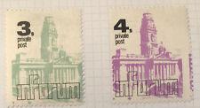 GB Postal Strike Stamps 1971 - Inforum Private Post