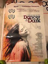 ORIGINAL VINTAGE DANCER IN THE DARK CINEMATIC BJORK SUGARCUBES MOVIE POSTER OOP