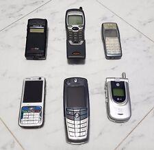LOTTO TELEFONO CELLULARE VINTAGE NOKIA 7110 NOKIA 1101 ERICSSON NOKIA N73