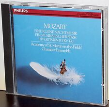 PHILIPS CD 412-269-2: MOZART - Eine Kleine Nachtmusik - 1984 West GERMANY NM