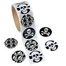 100 Pirate Stickers|Pirate Party|Party Favours|Party Bag Fillers