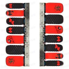 Wonderful 14Pcs Acrylic Nail Art Patch Polish Tips Decals Sticker S1190