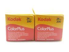 2 x KODAK COLORPLUS 200 35mm 24Exp CHEAP COLOUR PRINT FILM -1st CLASS ROYAL MAIL