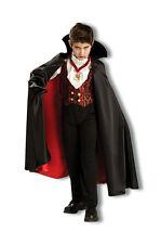 Kids Transylvania Vampire Costume Dracula Halloween Spooky  Child Size Sm 4-6