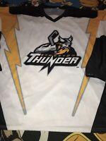Stockton Thunder Team Minor League Hockey Jersey 2xl Men ECHL California