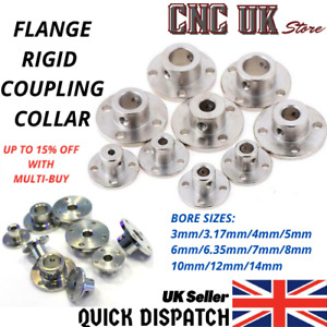 Flange Rigid Shaft Coupling Coupler Collar Motor Joint Connector