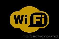 WiFi Spot Sticker Vinyl Decal - Store Business Window Door Wireless Hotspot Sign