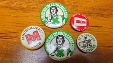 Vintage Green Cross Code/ODEON Kino/wayfinders Tracker +1 Metall Pin Abzeichen