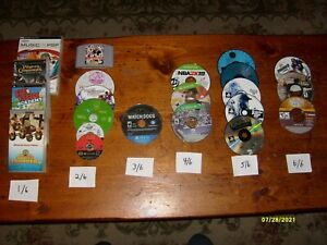 OVER  36 MIXED LOT(PSP,PS1/4,XBOX ONE NINTENDO+)VIDEO GAMES DISC ONLY..AS IS-#18