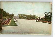 F & G POLLARD POSTCARD -OLDHAM PARK ENTRANCE - POSTED 1907