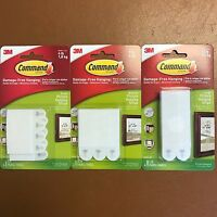 3M COMMAND Strips Large, Medium, Small For Damage Free Picture & Poster Hanging