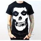 Misfits Skull Tour Men's Black Cotton Tee T-Shirt Top Size S - 2XL