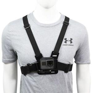 Chest Strap Mount Belt For GoPro Hero 9 8 7 6 5 4 OSMO Action Camera Belt