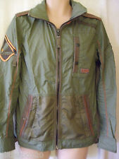 NEW £115 MENS SUPERDRY SMALL, ULTIMATE SERVICE HYBRID LITE JACKET- ARMY GREEN