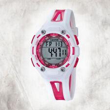Relojes de pulsera de goma calendario perpetuo de mujer