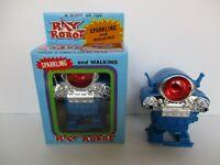 RARO ROBOT MOBILE CICLOPE LUCE E SCINTILLE A CORDA ANNI '70