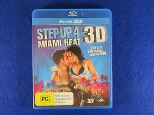 Step Up 4 Miami Heat 3D - Blu Ray - Free Postage !!