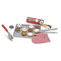 Cookie Set Toy Slice and Bake Melissa & Doug