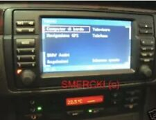 BMW 2 GUIDE INST. NAVIGATORE 16:9 + TV + VIVAVOCE BLUETOOTH ULF - E46 E39 X5 X3