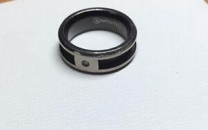 Mens Titanium Designer Ring Size R