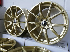VW Golf Jetta Passat Alufelgen V1 Wheels V1 8,5 x 19 5 X 112 ET 45 Gold Matt
