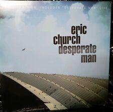 Eric Church - Desperate Man - Blue Vinyl (Exclusive Live Edition) Nashville pres