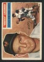 1956 Topps #205 Whitey Lockman VG/VGEX NY Giants 85288