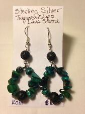 Handmade Jewelry one of a kind unique sterling silver Turquoise