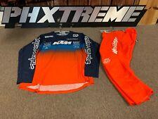 Troy Lee GP Air Stain'd  KTM Team Navy / Orange Set