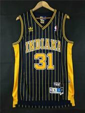 Reggie Miller Jersey NBA Indiana Pacers 31 NAVY BLUE Swingman Authentic
