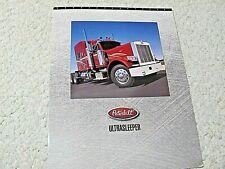 1997 PETERBILT  ULTRASLEEPER TRUCKS (USA) SALES BROCHURE..