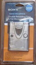 BRAND NEW SONY TMC-400DV  CASSETTE VOICE RECORDING  FLAT MICROPHONE