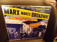 Dick Marx [Piano] makes Broadway w/ Buddy Collette LP Omega Cool Jazz VG+