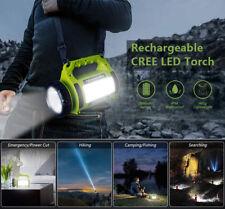 Novo Rechargeable LED Flashlight Camping Lantern Searchlight Spot Light Torch