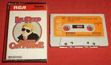 LOU REED - UK CASSETTE TAPE - SALLY CAN'T DANCE - FIRST ISSUE WITH PAPER LABELS