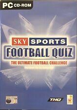 Sky Sports Football Quiz für PC CD-ROM geliefert in Original Case (Free Post)