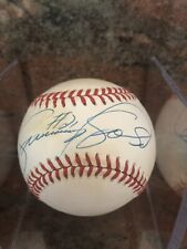 SAMMY SOSA Autographed / Signed Baseball Chicago Cubs