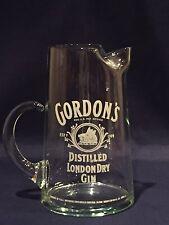 Vintage Gordon's Distilled London Dry Gin Glass Pitcher