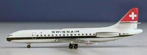 Aeroclassics AC419869 Swissair SUD SE-210 Caravelle HB-ICX Diecast 1/400 Model