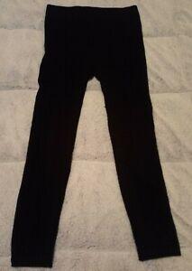 NAUTICA Women's Cable Sweater Tights BLACK M/L