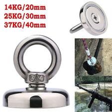 Strong Powerful Round Neodymium Hook Rescue Magnet Fishing Equipment Magnet