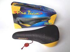 1990s VINTAGE NOS Selle Italia Pro Team Turbo Black Tiger Stripe sella in pelle