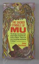 SACRED SYMBOLS OF MU JAMES CHURCHWARD 1968 PAPERBACK LIBRARY #54-663 1ST ED PB