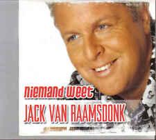 Jack Van Raamsdonk-Niemand Weet cd single