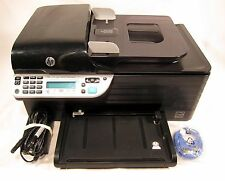 HP Officejet 4500 All In One Color Photo Inkjet Printer Scanner Copier Fax Wi-Fi