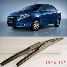 """18""""&16"""" Durable Rubber Windshield Wiper Arm with Blades U Hook For Chevy Sail 13"""