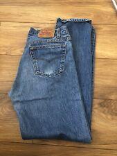 Levis 501XX BLUE DENIM JEANS W35 L36 Vintage