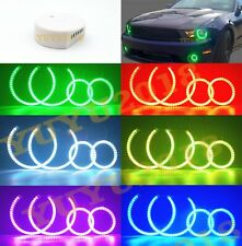 RGB halo ring For Ford Mustang Shelby GT500 10-12 headlight fog light-Bluetooth