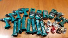 MAKITA 12 VOLT AND 14 VOLT IMPACT, DRILLS, LAMPS, BATTERIES, CHARGERS, LOT